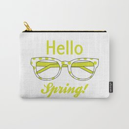 Hello Spring 3 Carry-All Pouch