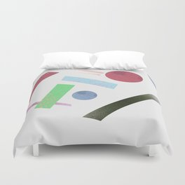 Geometry 4 Duvet Cover