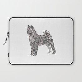 Tangled Akita Dog Laptop Sleeve