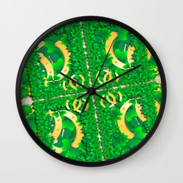 Wishing you lots of luck Wall Clock