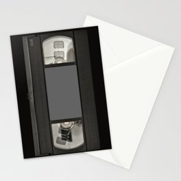 Retro 80's objects - Videotape Stationery Cards