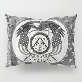 Faith Hope Liberty & Freedom Eagle on US flag Pillow Sham