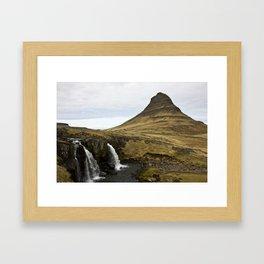 Lonely Mountain Framed Art Print