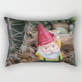 Desert Gnome Rectangular Pillow