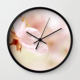 Cherry Blossom Flower Wall Clock