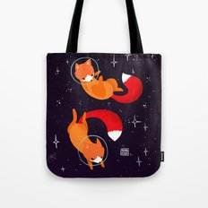 Space Foxes Tote Bag