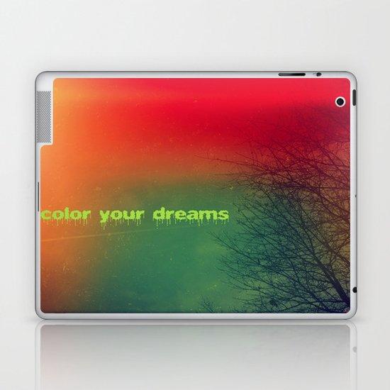 Color your dreams Laptop & iPad Skin