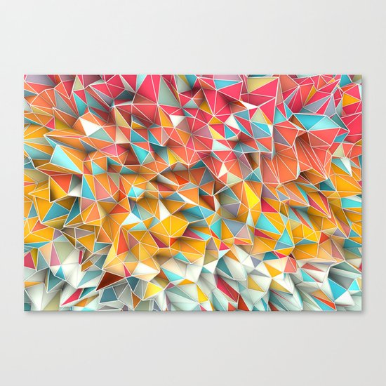 Kaos Summer Canvas Print