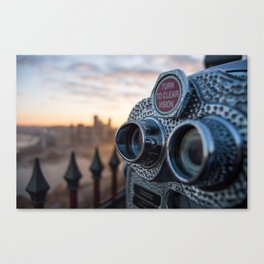 Viewfinder of Pittsburgh Canvas Print