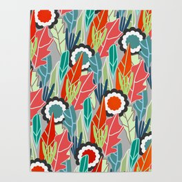 Floral jungle Poster
