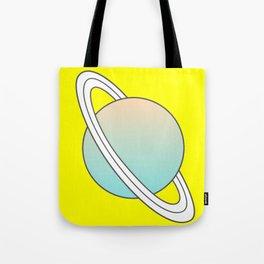 Saturn planet Tote Bag
