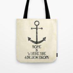 Where The Anchor Drops Tote Bag
