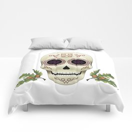 Knotwork Skull Comforters