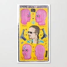 Spring Break Haircuts Canvas Print