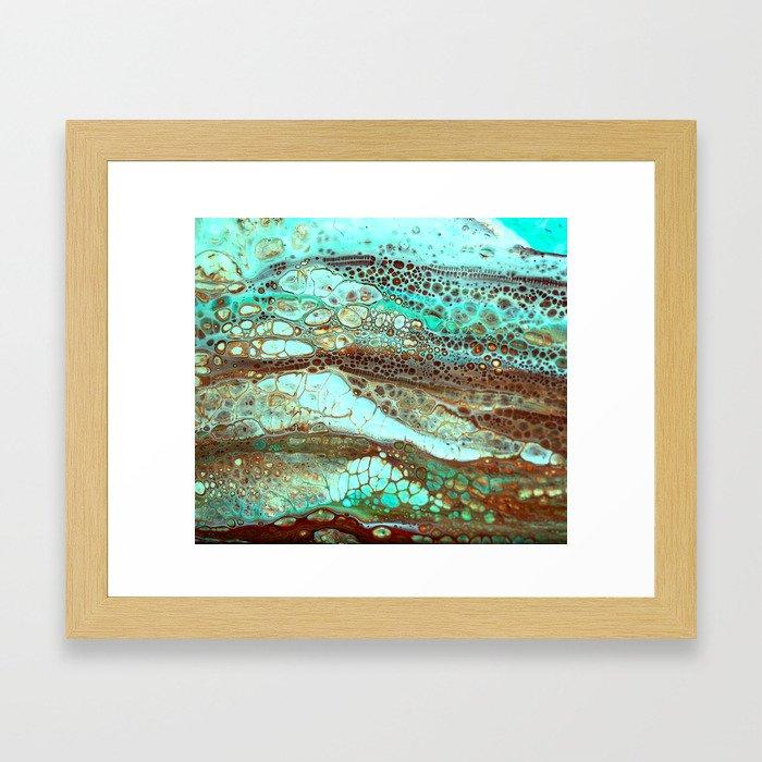Abstract Annemarie Framed Art Print