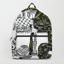 Yin Yang duality interconnected Backpack