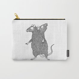Two Headed Rat, I Love You Carry-All Pouch