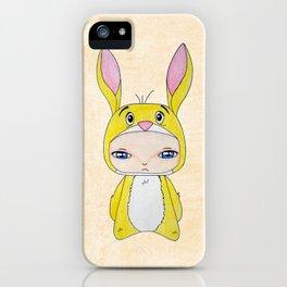 A Boy - Rabbit (coco lapin) iPhone Case