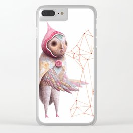The Seeding Clear iPhone Case