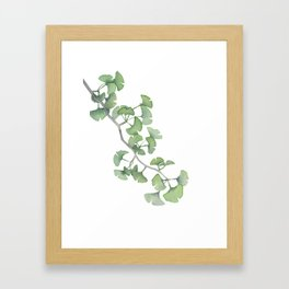 GINKGO, painting by Frank-Joseph Framed Art Print