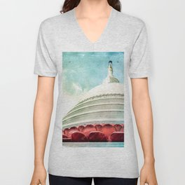 Buddha House Unisex V-Neck