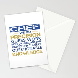 Chef Stationery Cards