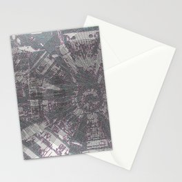 CERN: The Large Hadron Collider: A Love Story Stationery Cards