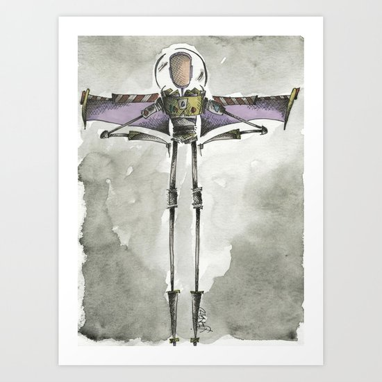 To infinity and beyond Art Print