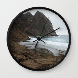 Kvalvika Wall Clock