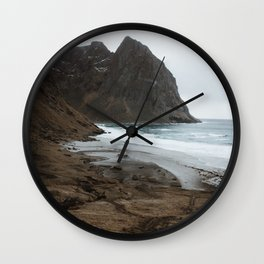 Kvalvika Wall Clock