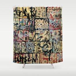 Dan Pyne Shower Curtain