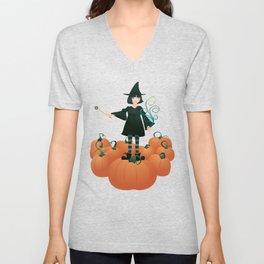 Little Witch Unisex V-Neck