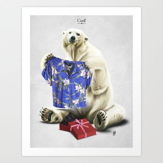 Cool! Art Print