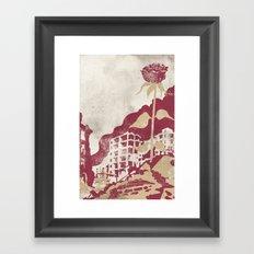 The Militancy Of A Flower Framed Art Print