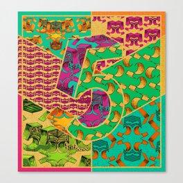 Tile 5 Canvas Print