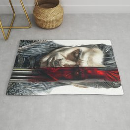 The Witcher Geralt of Rivia Rug