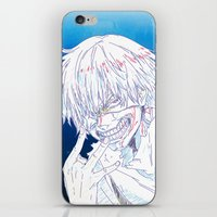 tokyo ghoul iPhone & iPod Skins featuring Tokyo Ghoul  by Neo Crystal Tokyo