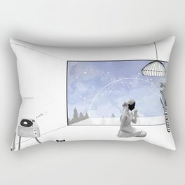 Beautiful Nightmare Rectangular Pillow