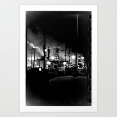 Vintage Pollution Art Print