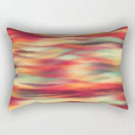 Painted Rainbow 07 Rectangular Pillow