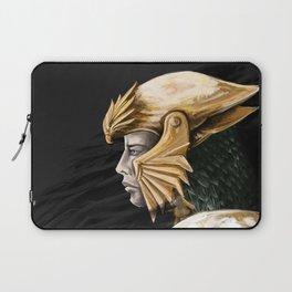 Gold helm Laptop Sleeve