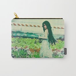 """A Flower Does Not Think Of Competing To The Flower Next To It. It Just Blooms"" Carry-All Pouch"