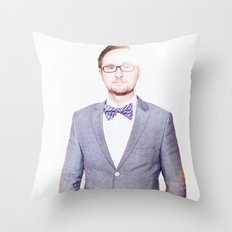 Jeremiah Wilson Photographer Throw Pillow