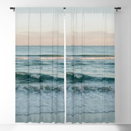 Blue Morning Blackout Curtain