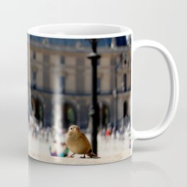 Sparrow at the Louvre Coffee Mug