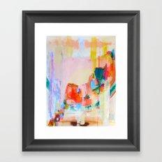 Now Smile Big Framed Art Print