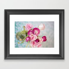Bunches of Pink II Framed Art Print