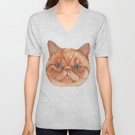 Betty aka The Snappy Cat- artist Ellie Hoult Unisex V-Neck