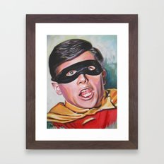 Derp Wonder Framed Art Print