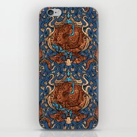 ravenclaw iPhone & iPod Skins featuring Ravenclaw by Cryptovolans